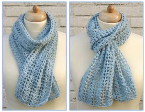 sjaal-haakpatroon