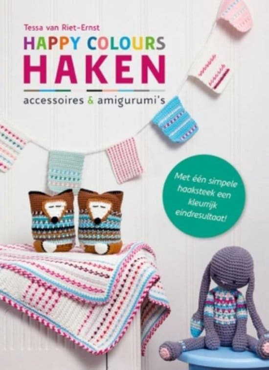 haakboek happy colours haken