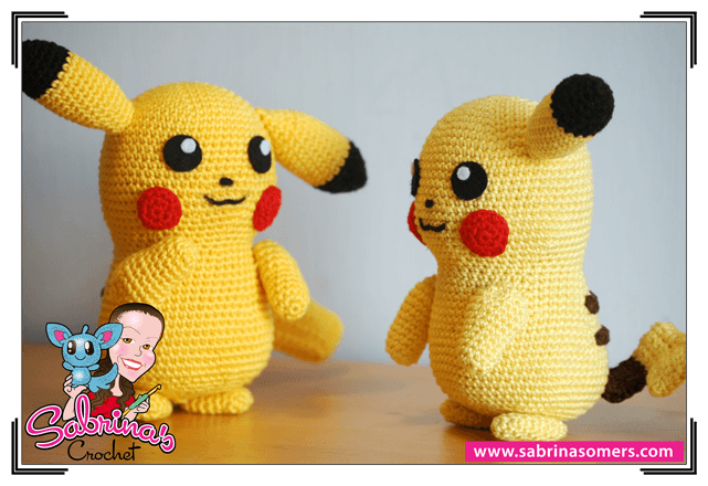 Pikachu haken - serie Pokemon haken - Gratis Haakpatronen