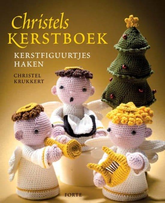 haakboek kerst kerstfiguurtjes haken