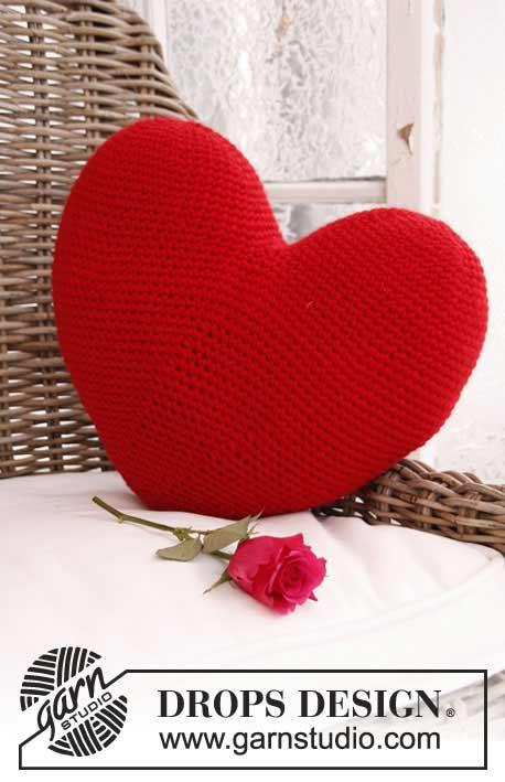 Groot hart haken
