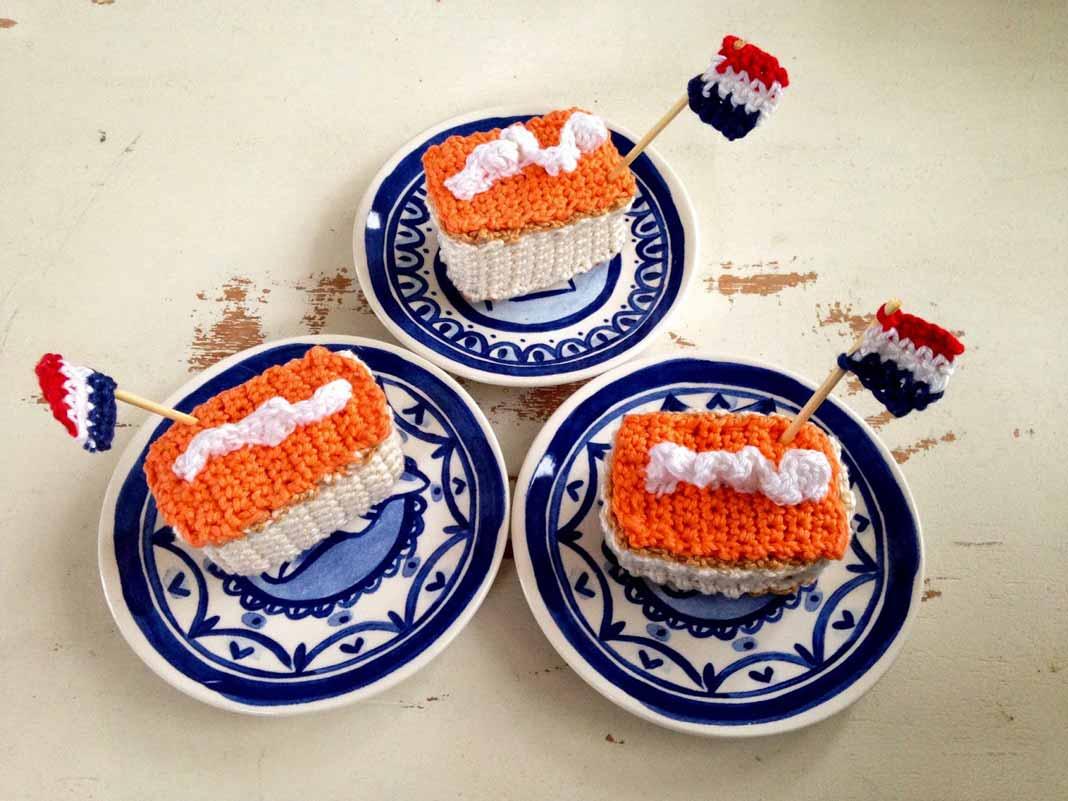 Oranje Tompouce Haken Om Koningsdag Extra Feestelijk Te Maken